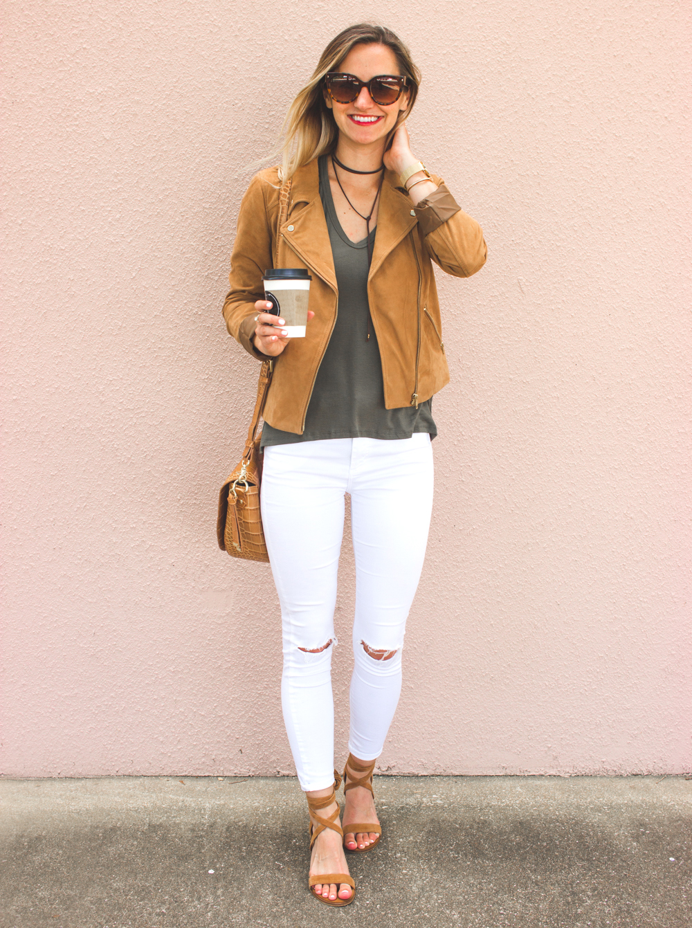 livvyland-blog-olivia-watson-boho-ootd-nordstrom-anniversary-sale-must-haves-what-to-buy-suede-tan-jacket-fall-summer-outfit-cluse-gold-watch-1