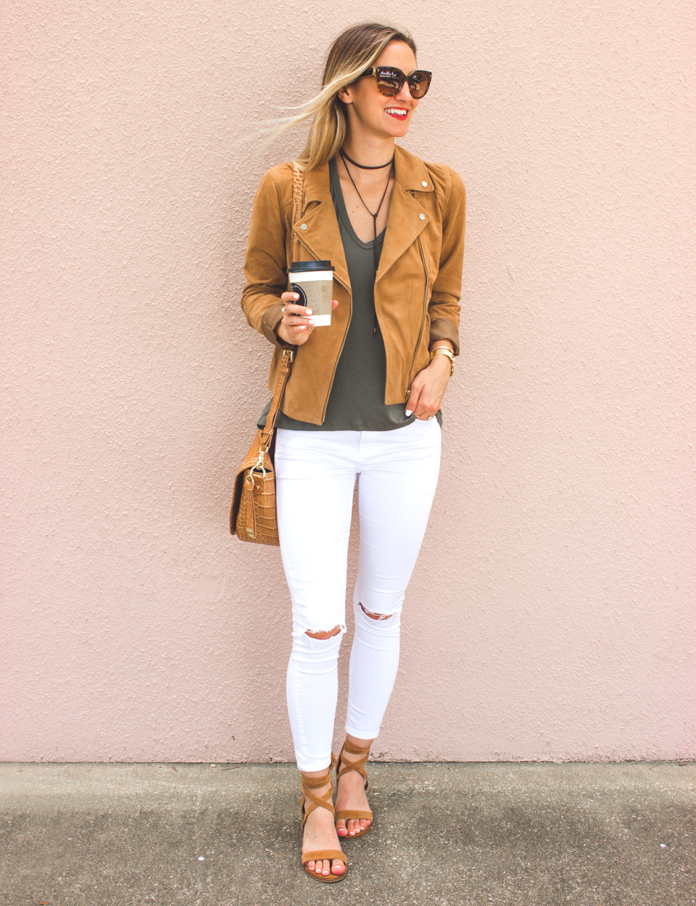 livvyland-blog-olivia-watson-boho-ootd-nordstrom-anniversary-sale-must-haves-what-to-buy-suede-tan-jacket-fall-summer-outfit-cluse-gold-watch-2