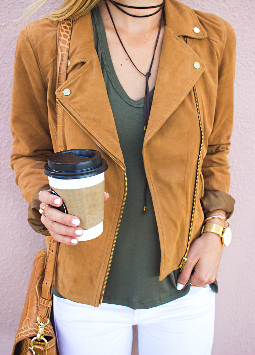 livvyland-blog-olivia-watson-boho-ootd-nordstrom-anniversary-sale-must-haves-what-to-buy-suede-tan-jacket-fall-summer-outfit-cluse-gold-watch-4