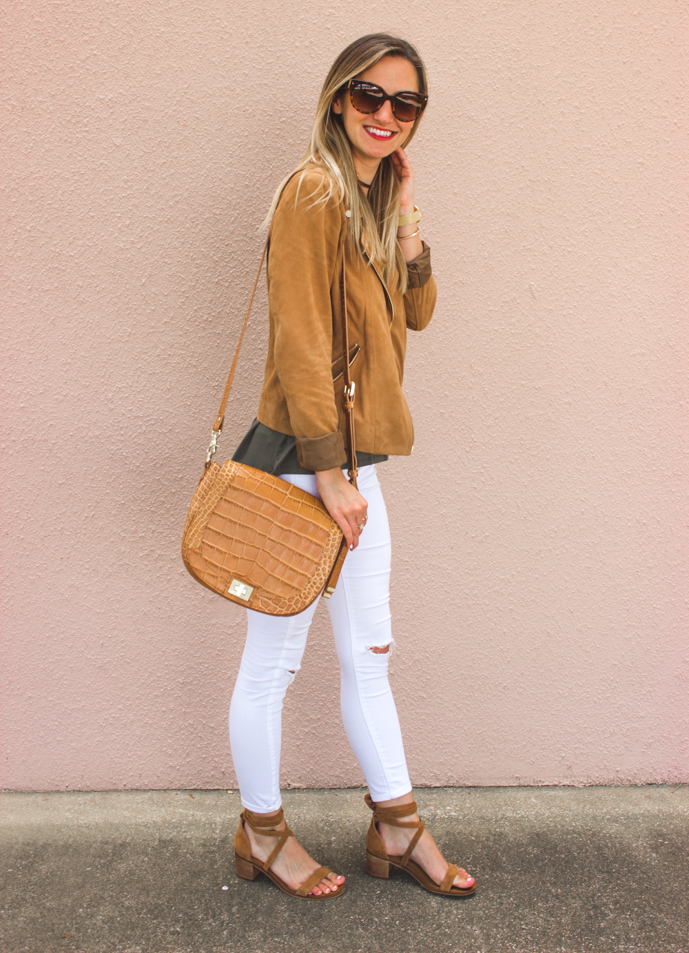 livvyland-blog-olivia-watson-boho-ootd-nordstrom-anniversary-sale-must-haves-what-to-buy-suede-tan-jacket-fall-summer-outfit-cluse-gold-watch-8
