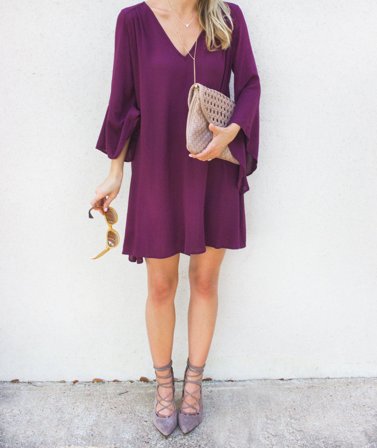 livvyland-blog-olivia-watson-austin-texas-fashion-blogger-bell-sleeve-maroon-wine-burgundy-oxblood-dress-lace-up-heels-3