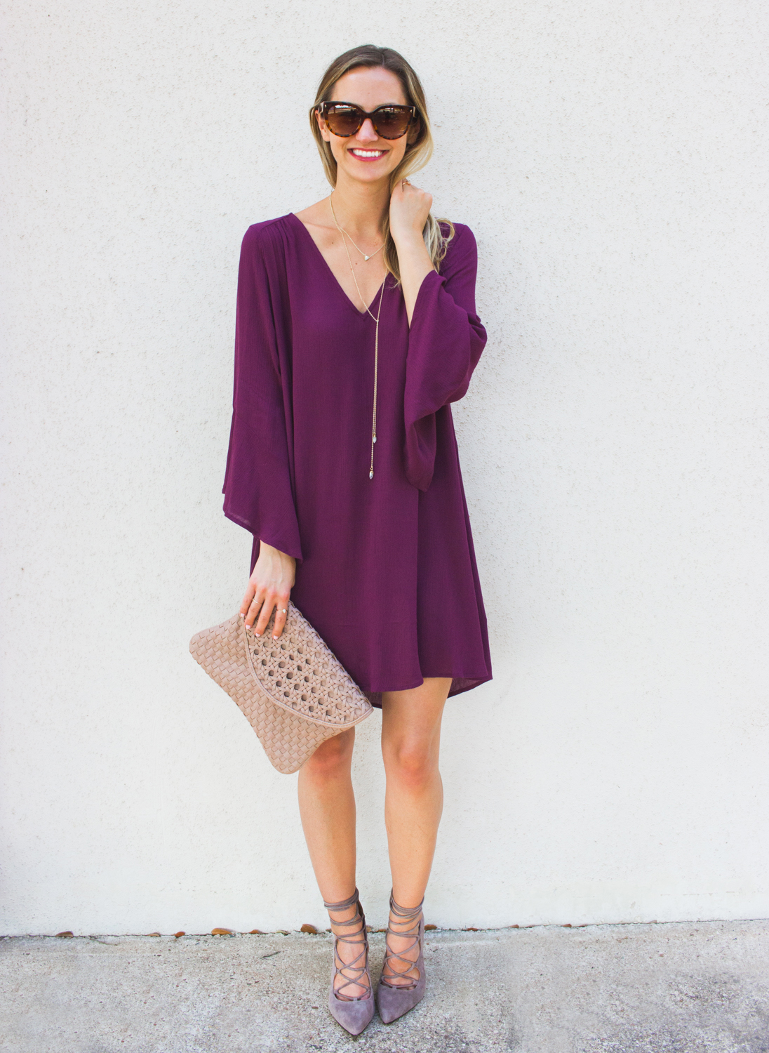 livvyland-blog-olivia-watson-austin-texas-fashion-blogger-bell-sleeve-maroon-wine-burgundy-oxblood-dress-lace-up-heels-6