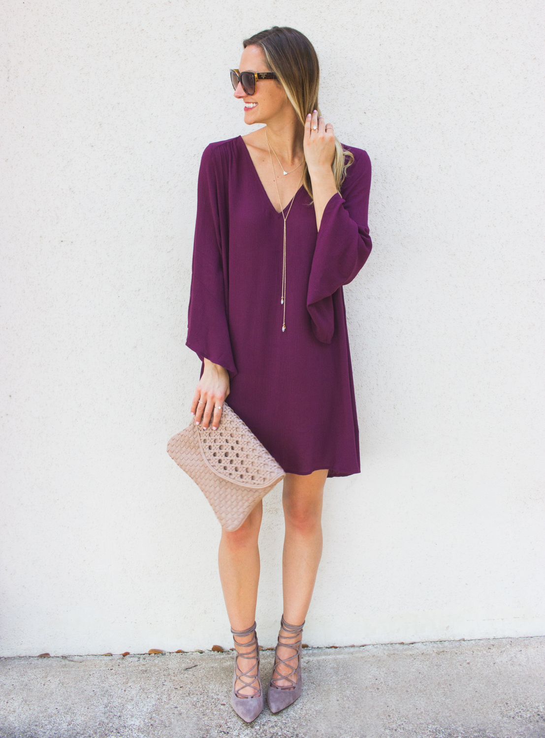 livvyland-blog-olivia-watson-austin-texas-fashion-blogger-bell-sleeve-maroon-wine-burgundy-oxblood-dress-lace-up-heels-7