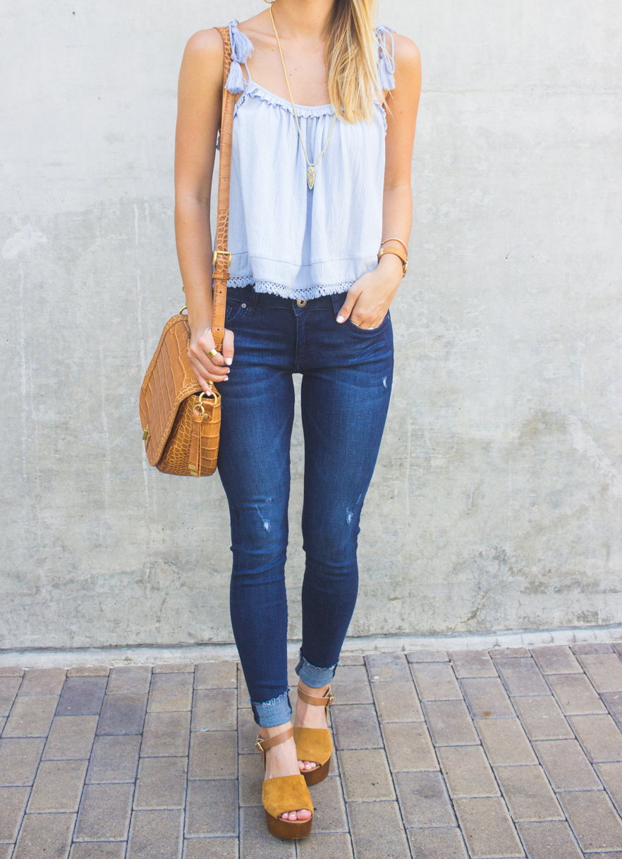 livvyland-blog-olivia-watson-austin-texas-fashion-blogger-topshop-tassel-periwinkle-blue-tank-top-dl1961-emma-jeans-brahmin-sonny-handbag-3