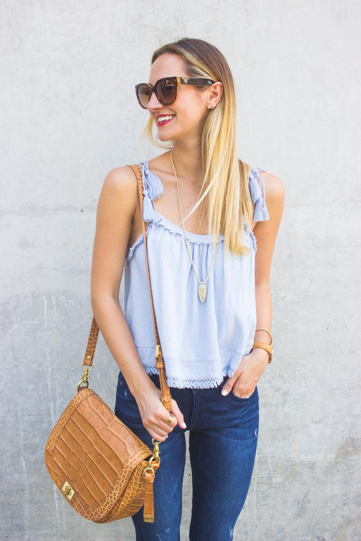 livvyland-blog-olivia-watson-austin-texas-fashion-blogger-topshop-tassel-periwinkle-blue-tank-top-dl1961-emma-jeans-brahmin-sonny-handbag-6