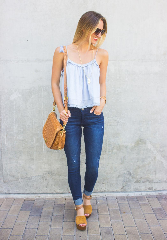 livvyland-blog-olivia-watson-austin-texas-fashion-blogger-topshop-tassel-periwinkle-blue-tank-top-dl1961-emma-jeans-brahmin-sonny-handbag-9