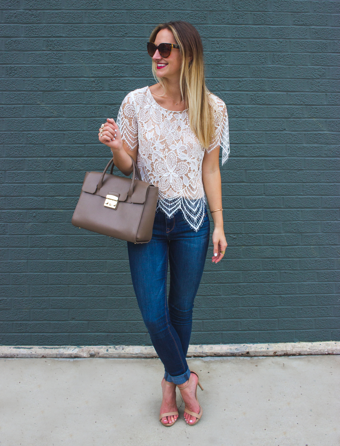 livvyland-blog-olivia-watson-date-night-express-skinny-jeans-lace-overlay-top-2