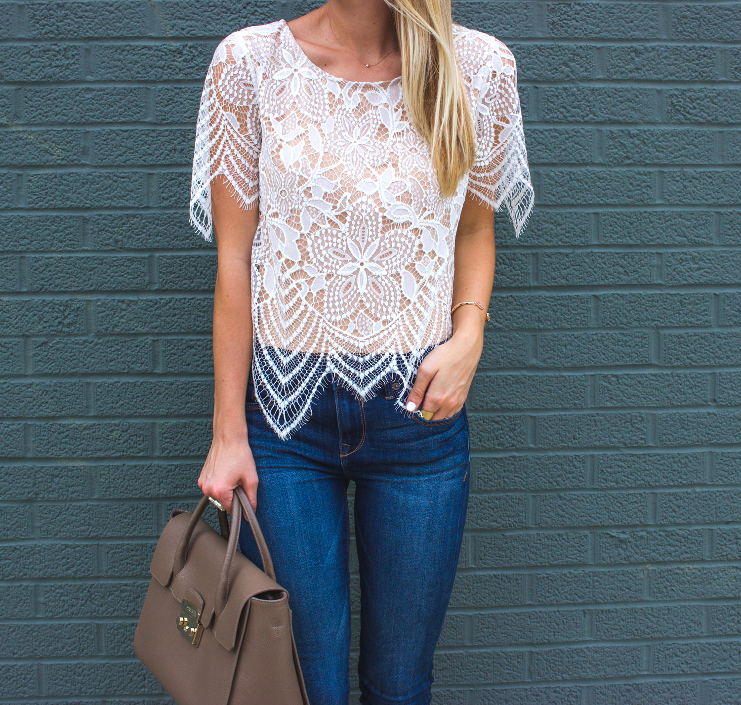 livvyland-blog-olivia-watson-date-night-express-skinny-jeans-lace-overlay-top-4
