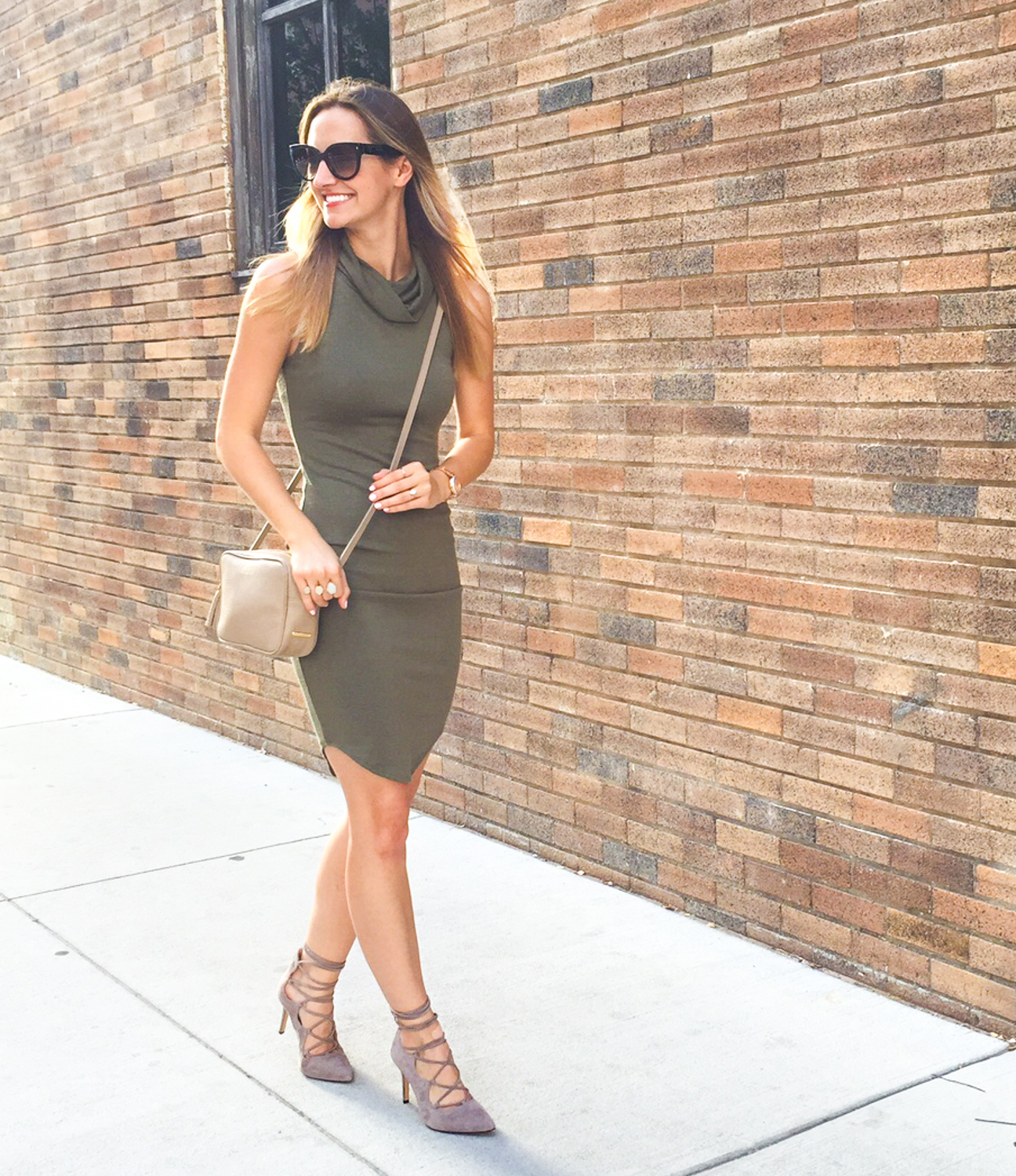 livvyland-blog-olivia-watson-nordstrom-cowl-neck-body-con-dress-lace-up-heels-austin-texas-fashion-blogger-3
