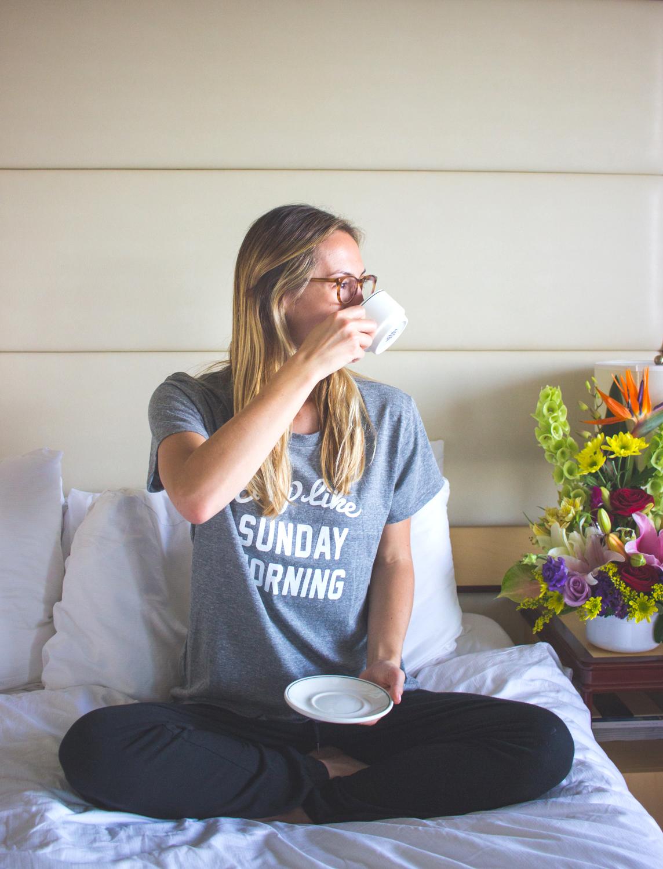 livvyland-blog-olivia-watson-princess-cruise-cabin-balcony-mediterranean-coast-breakfast-in-bed