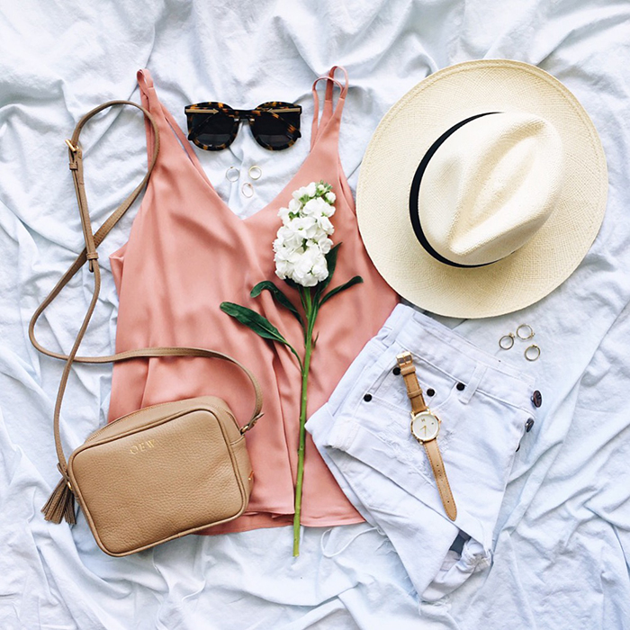 livvyland-blog-olivia-watson-austin-texas-fashion-blogger-topshop-blush-pink-strappy-back-top-gigi-new-york-madison-crossbody-handbag-one-teaspoon-bandits-shorts