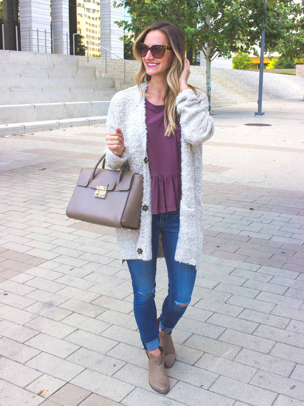 livvyland-blog-olivia-watson-cozy-fall-outfit-grandpa-oversize-cardigan-sweater-seychelles-snare-booties-2