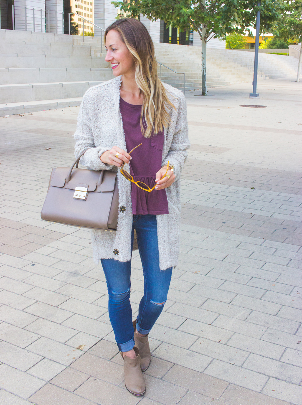livvyland-blog-olivia-watson-cozy-fall-outfit-grandpa-oversize-cardigan-sweater-seychelles-snare-booties-4