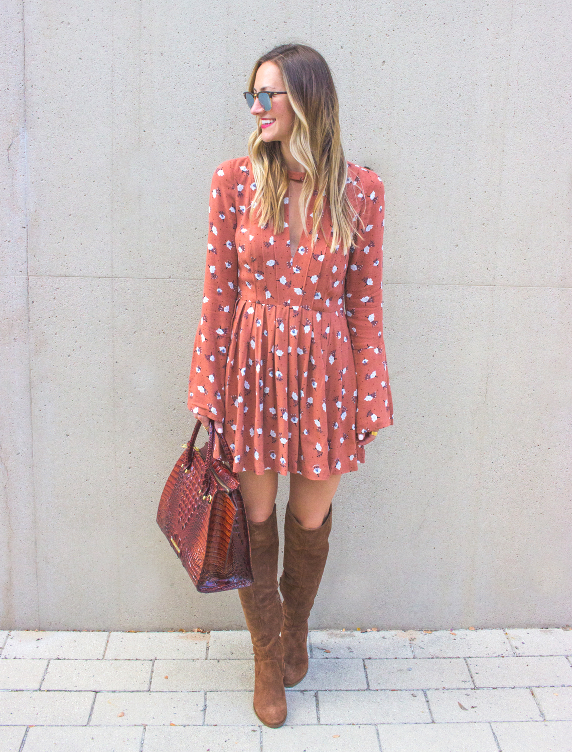 livvyland-blog-olivia-watson-fall-outfit-over-the-knee-boots-tegan-mini-dress-steve-madden-eternul-brahmin-priscilla-satchel-9