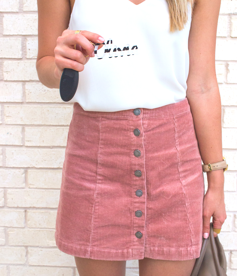 livvyland-blog-olivia-watson-moon-and-lola-monogram-necklace-small-gold-blush-corduroy-skirt-fall-a-line-toms-majorca-booties-6
