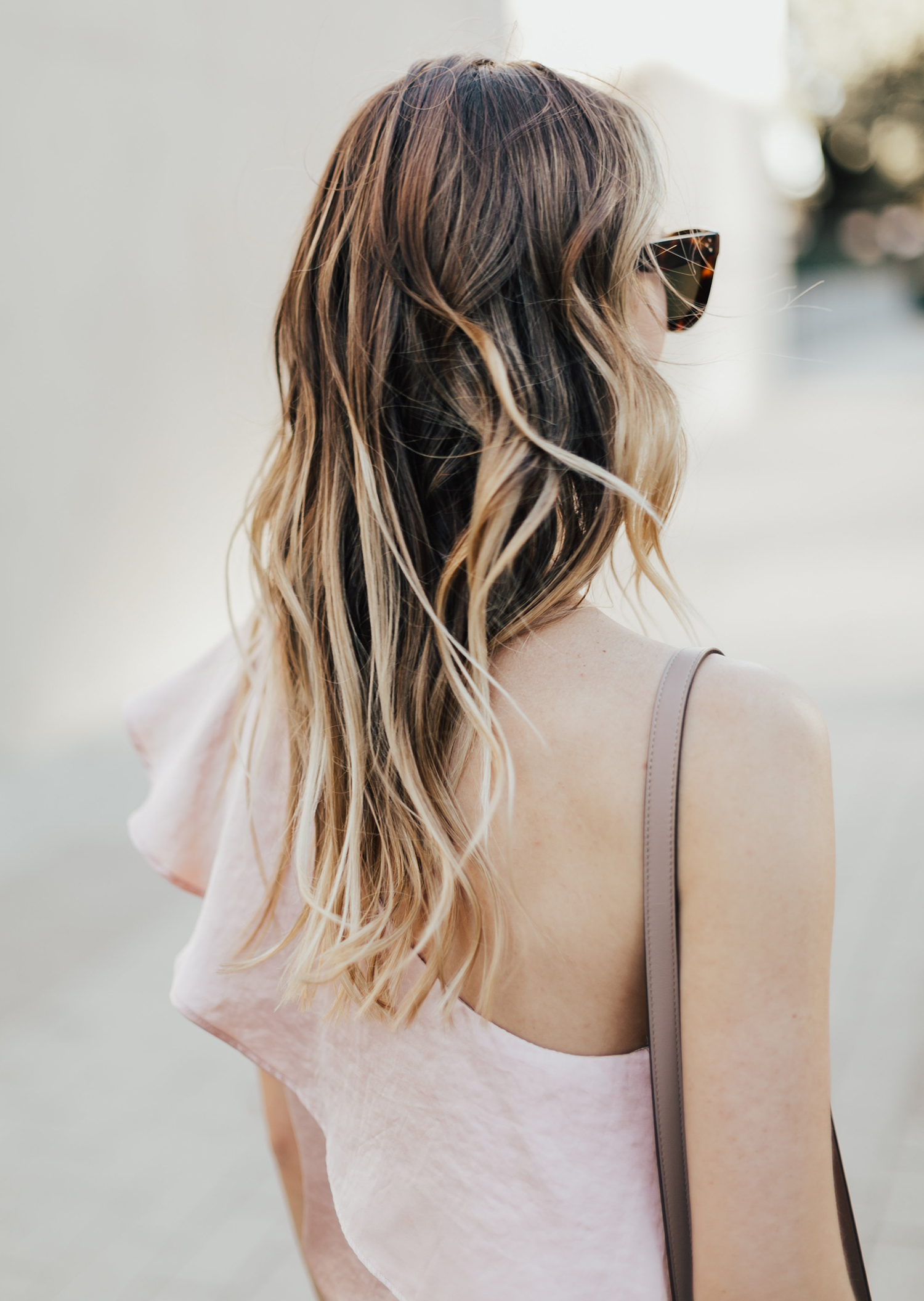 Blush Off Shoulder Top | LivvyLand