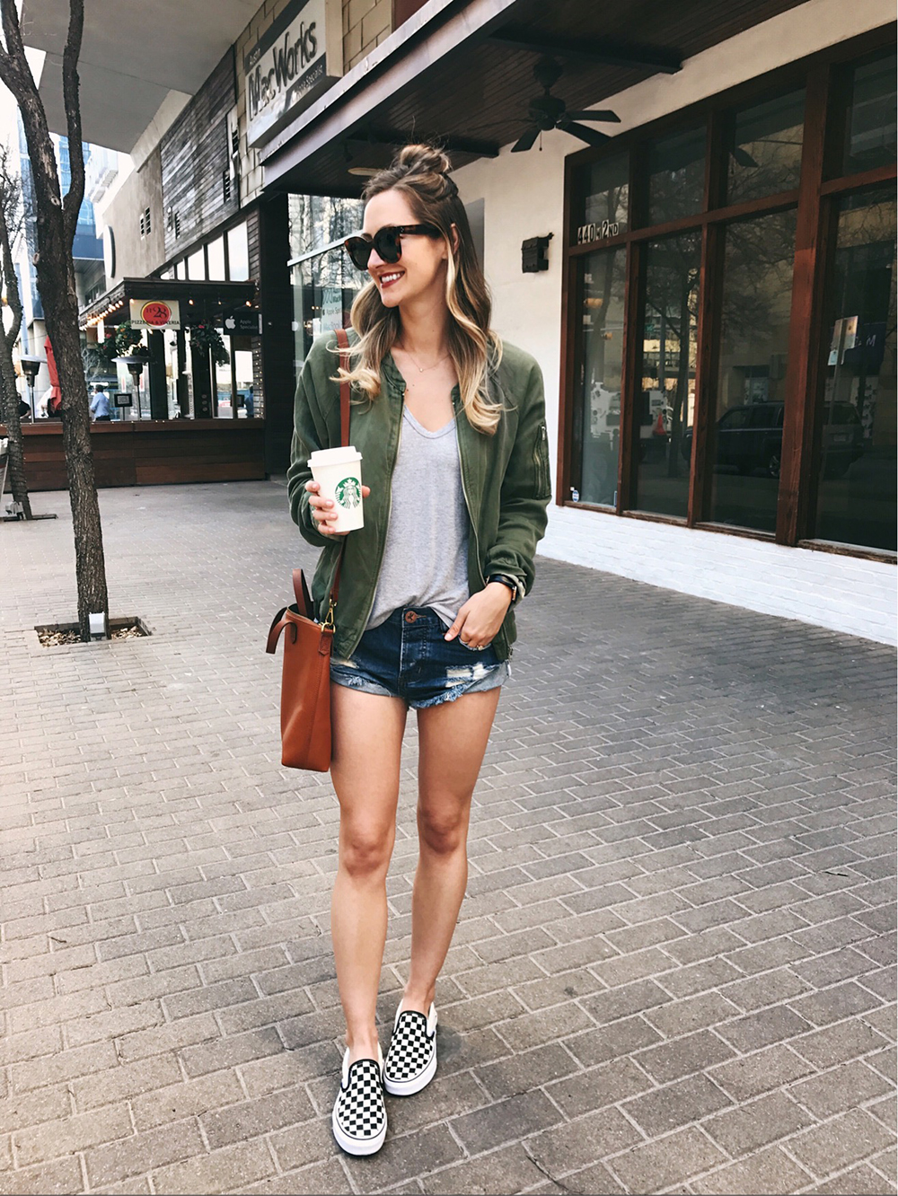 livvyland-blog-olivia-watson-instagram-roundup-livvylandblog-cozy-chic-boho-outfit-idea-one-teaspoon-bandit-shorts-vans-checkered-shoes