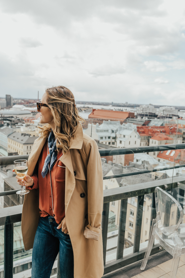 livvyland-blog-olivia-watson-regal-princess-scandinavia-cruise-may-june-itinerary-what-to-wear-pack-ports-helsinki-finland-ateljee-bar-rooftop-best-city-skyline-view