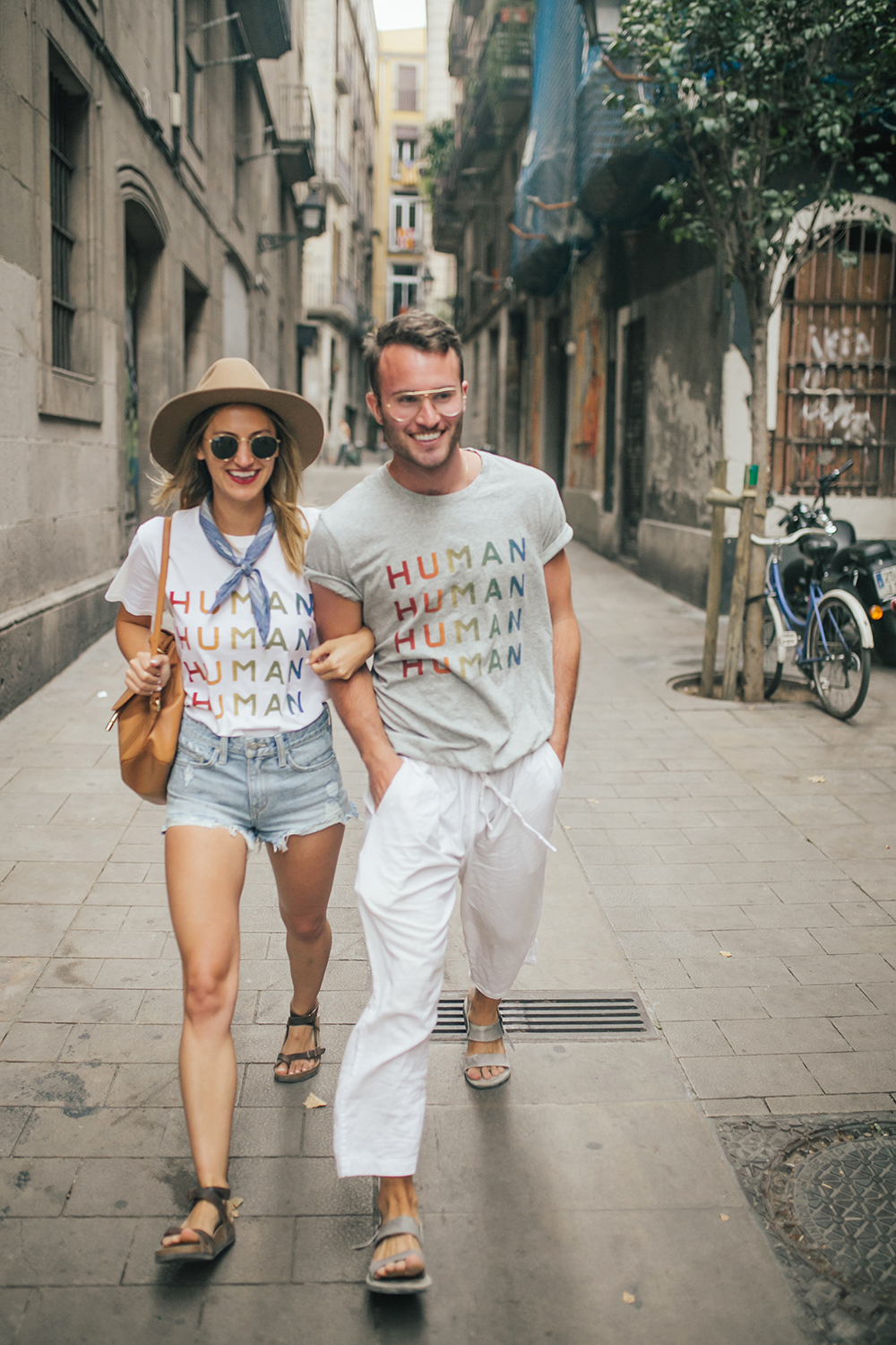 livvyland-blog-olivia-watson-fashion-travel-blogger-barcelona-spain-everlane-100-percent-human-tee-shirt-best-friends