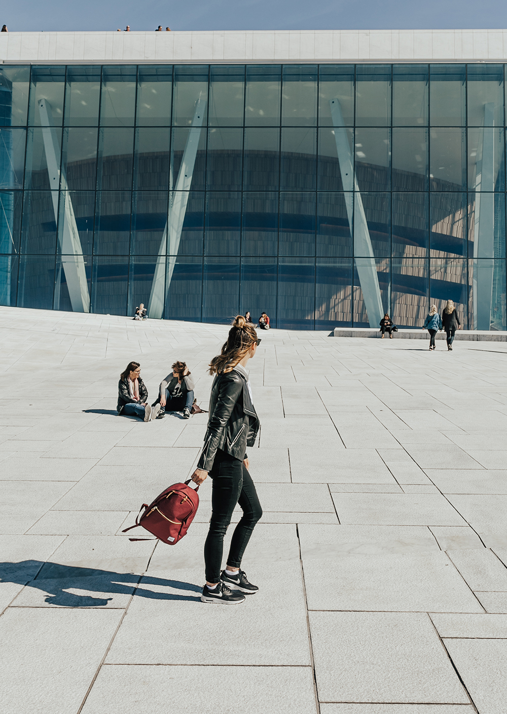 livvyland-blog-olivia-watson-fashion-travel-blogger-princess-cruises-scandinavia-what-to-wear-pack-oslo-norway-opera-house-glass-waterfront