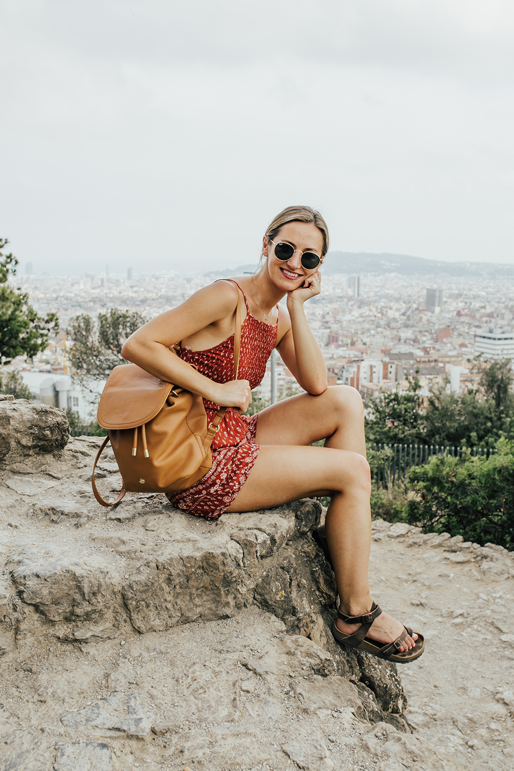 livvyland-blog-olivia-watson-park-guell-birkenstock-yara-oiled-leather-travel-sandals-shoes