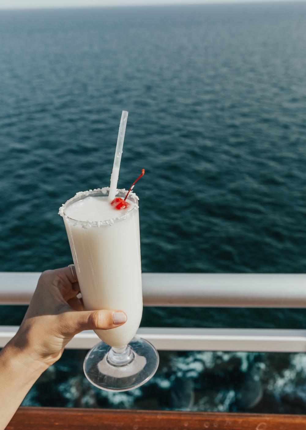 livvyland-blog-olivia-watson-travel-fashion-blogger-princess-cruises-regal-ship-what-to-do-on-board-cruise-boat-pina-colada-sea-balcony