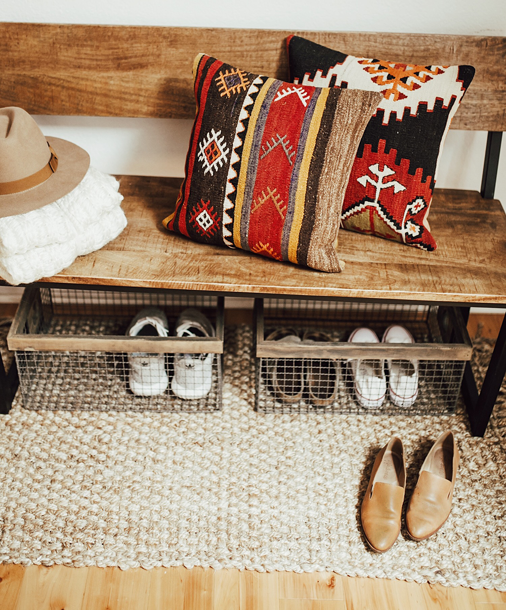 Home Decor Austin: Our Bohemian Entryway - LivvyLand
