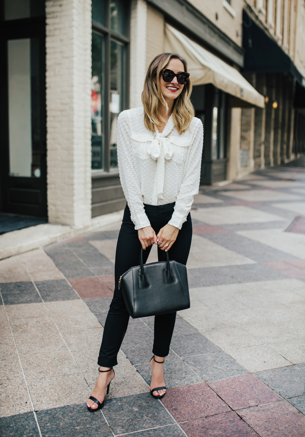 livvyland-blog-olivia-watson-fashion-blogger-banana-republic-sloan-black-dress-pants-pussybow-top-work-wear-outfit-inspiration-classic-chic-3