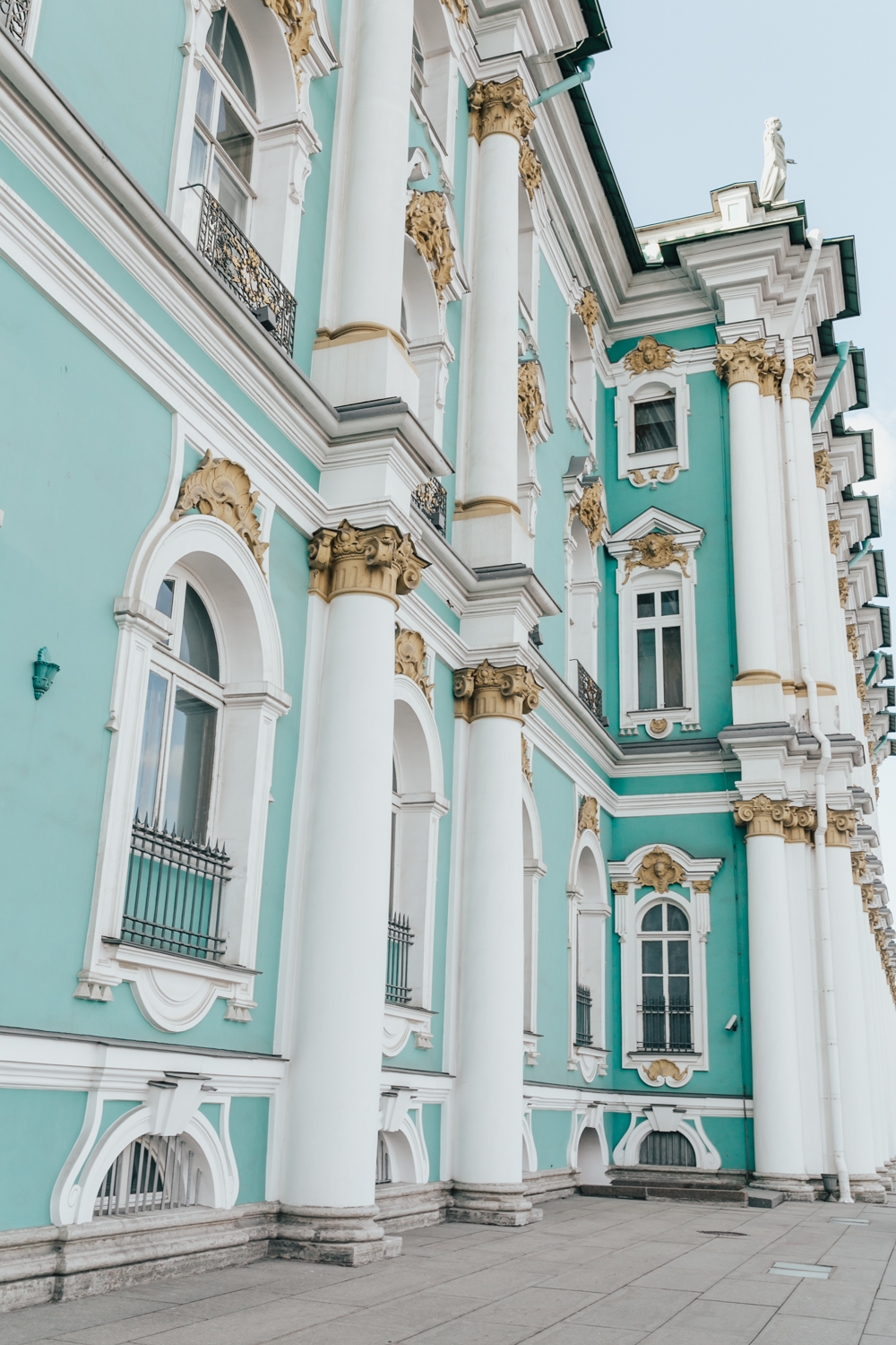 livvyland-blog-olivia-watson-regal-princess-scandinavia-cruise-may-june-itinerary-what-to-wear-pack-ports-russia-saint-petersburg-hermitage-museum-colorful-building