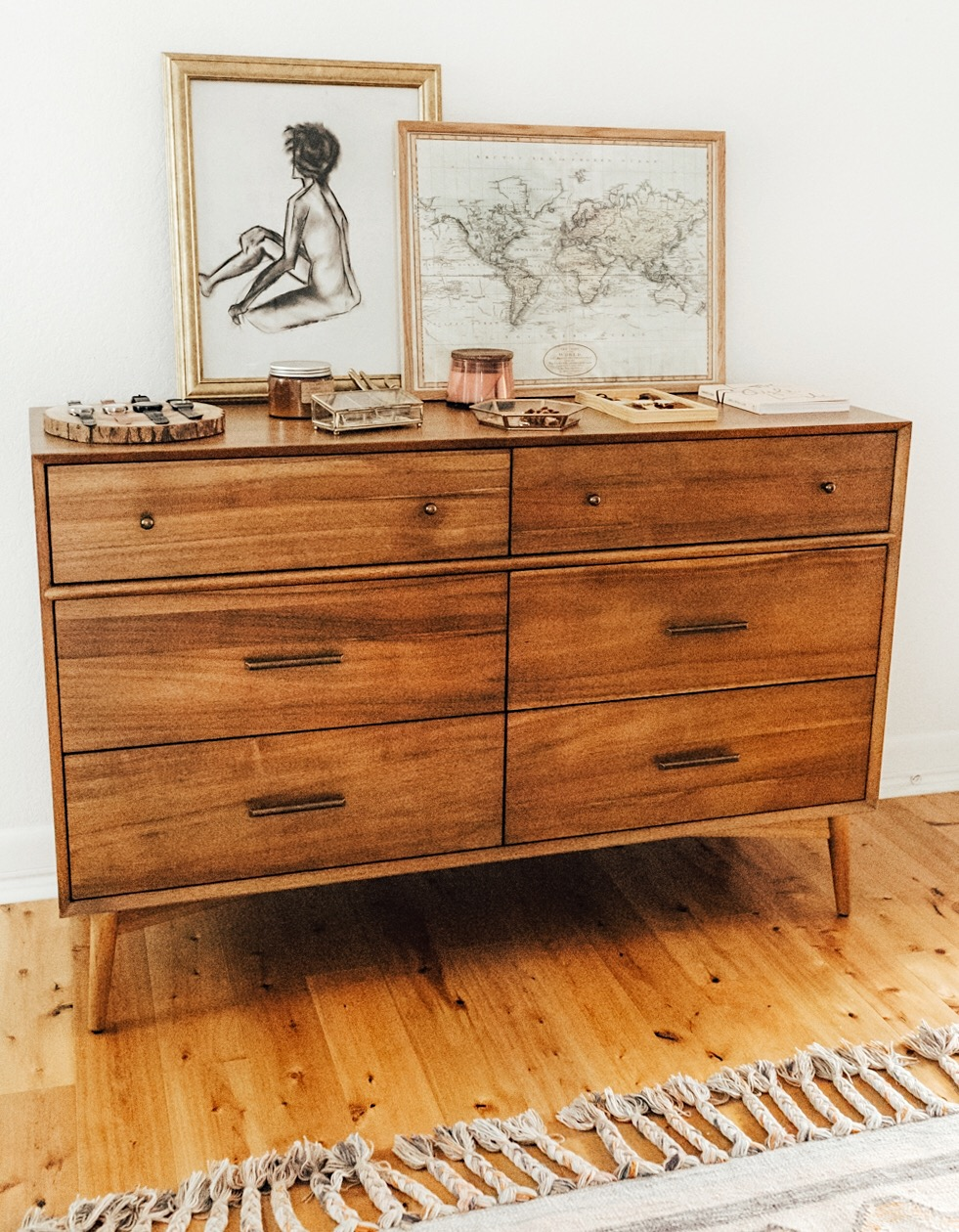 As. Bedroom Dresser Top Decor   LivvyLand   Austin Fashion and Style