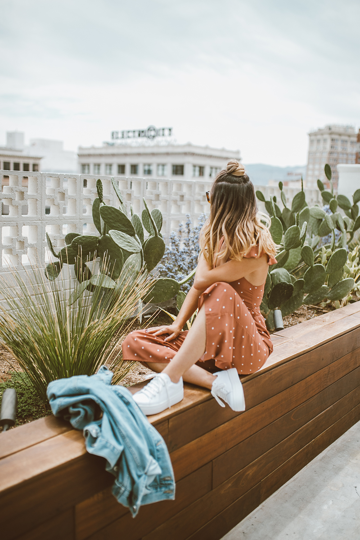 livvyland-blog-olivia-watson-asos-el-paso-hotel-indigo-what-to-wear-pink-jumpsuit-5