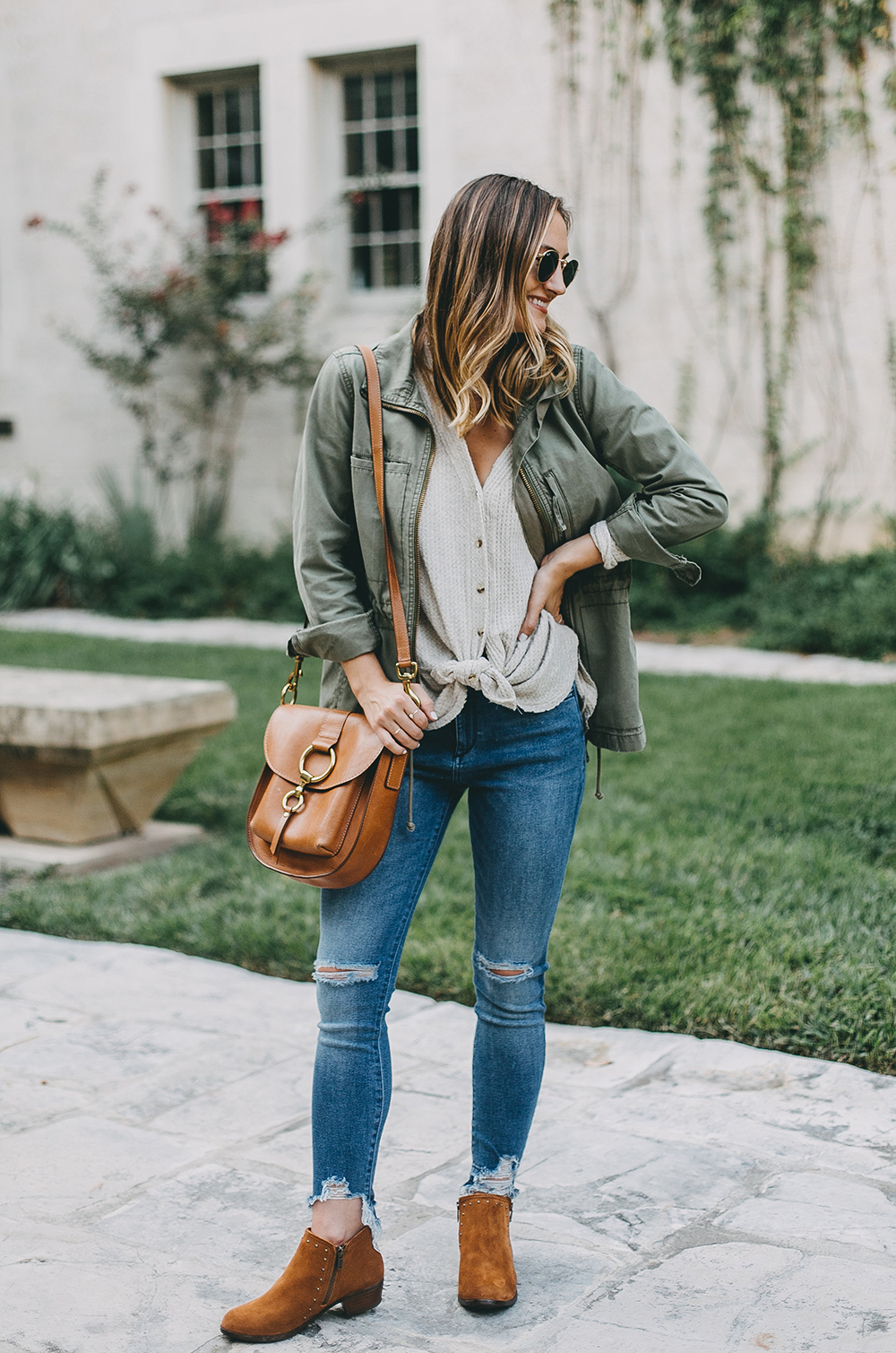 livvyland-blog-olivia-watson-austin-texas-fashion-blogger-minnatonka-moccasins-tan-suede-ankle-booties-madewell-utility-fleet-jacket-13