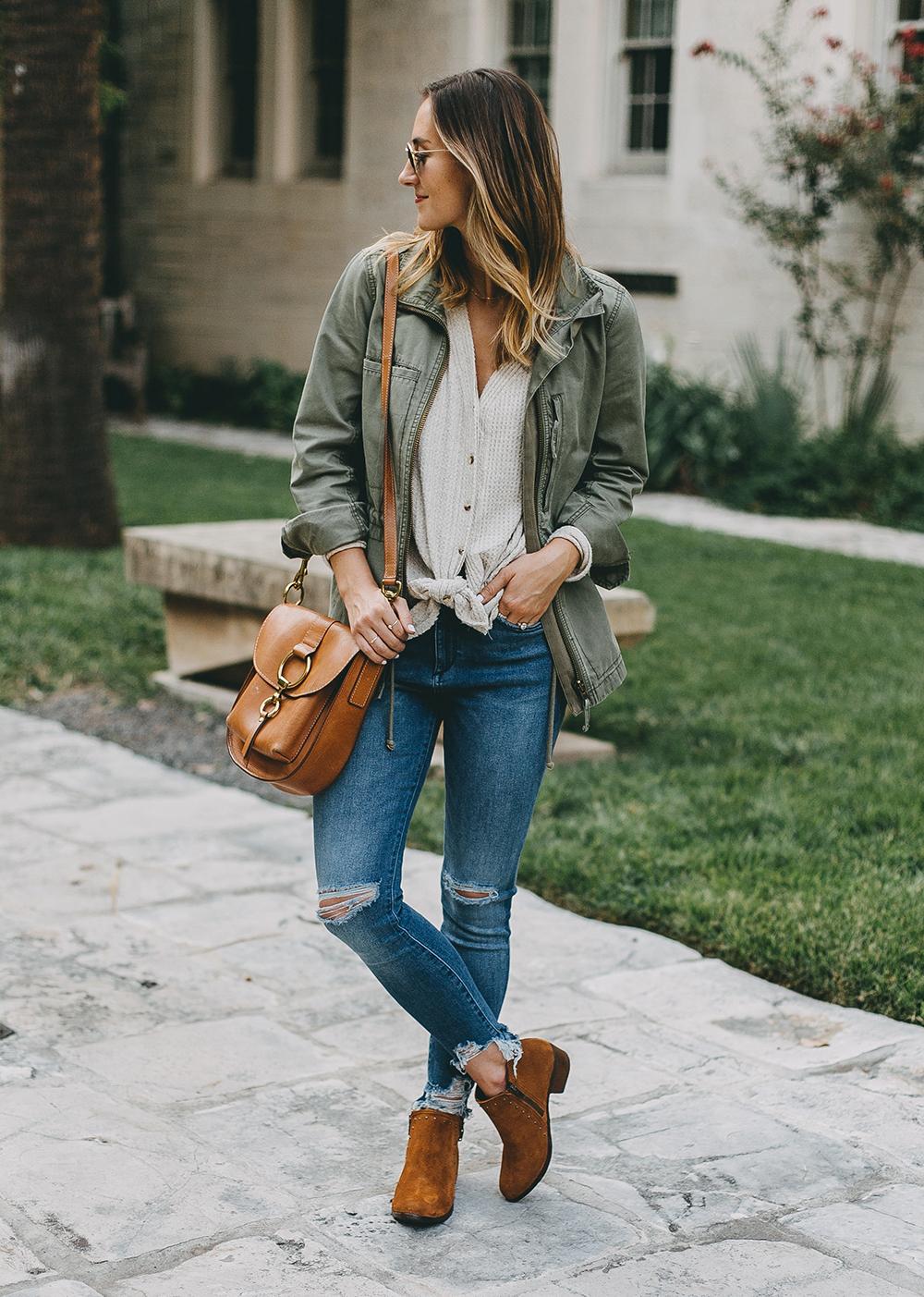 livvyland-blog-olivia-watson-austin-texas-fashion-blogger-minnatonka-moccasins-tan-suede-ankle-booties-madewell-utility-fleet-jacket-15
