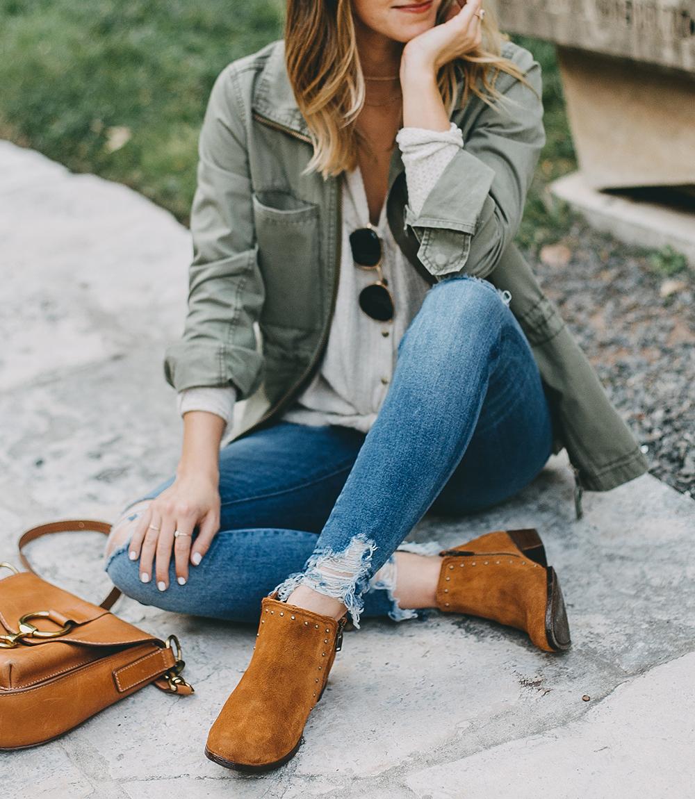 livvyland-blog-olivia-watson-austin-texas-fashion-blogger-minnatonka-moccasins-tan-suede-ankle-booties-madewell-utility-fleet-jacket-6
