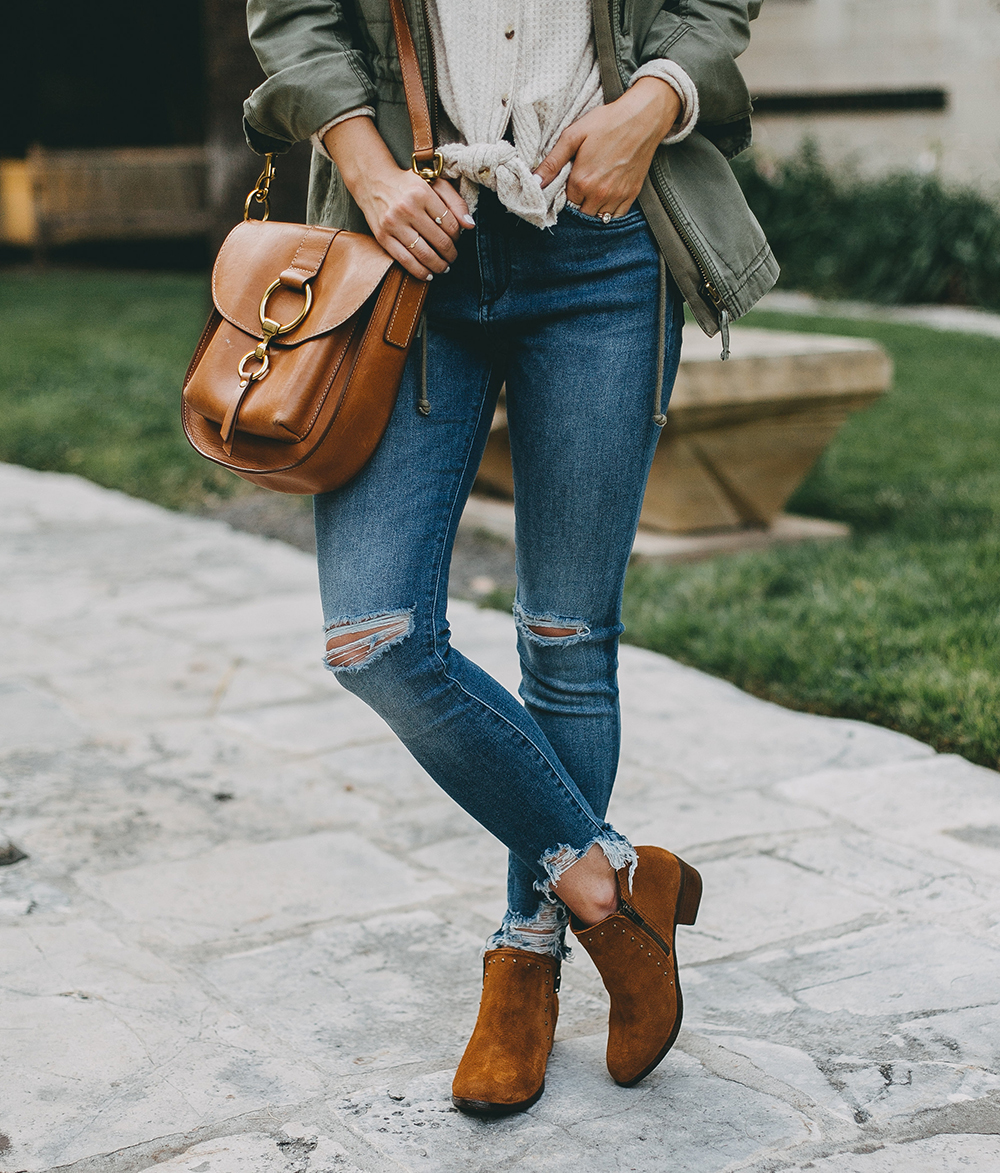 livvyland-blog-olivia-watson-austin-texas-fashion-blogger-minnatonka-moccasins-tan-suede-ankle-booties-madewell-utility-fleet-jacket-7