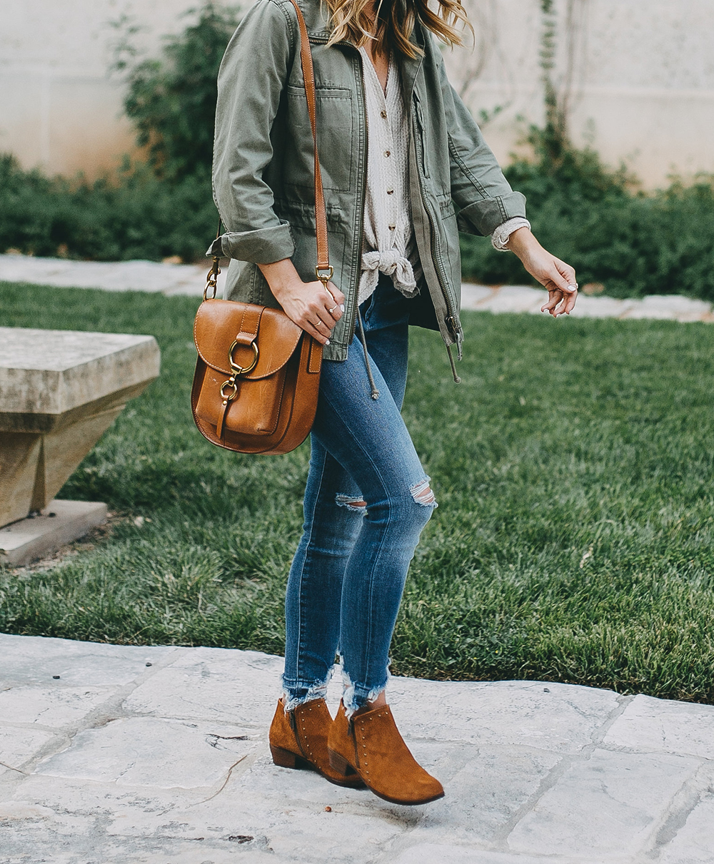 livvyland-blog-olivia-watson-austin-texas-fashion-blogger-minnatonka-moccasins-tan-suede-ankle-booties-madewell-utility-fleet-jacket-8