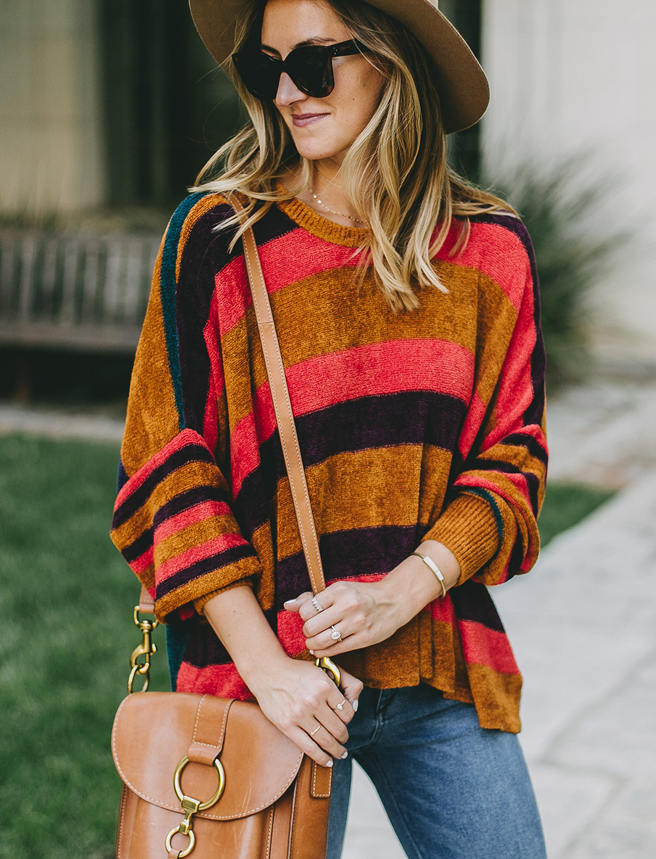 livvyland-blog-olivia-watson-austin-texas-fashion-blogger-free-people-oversize-striped-sweater-boho-chic-1