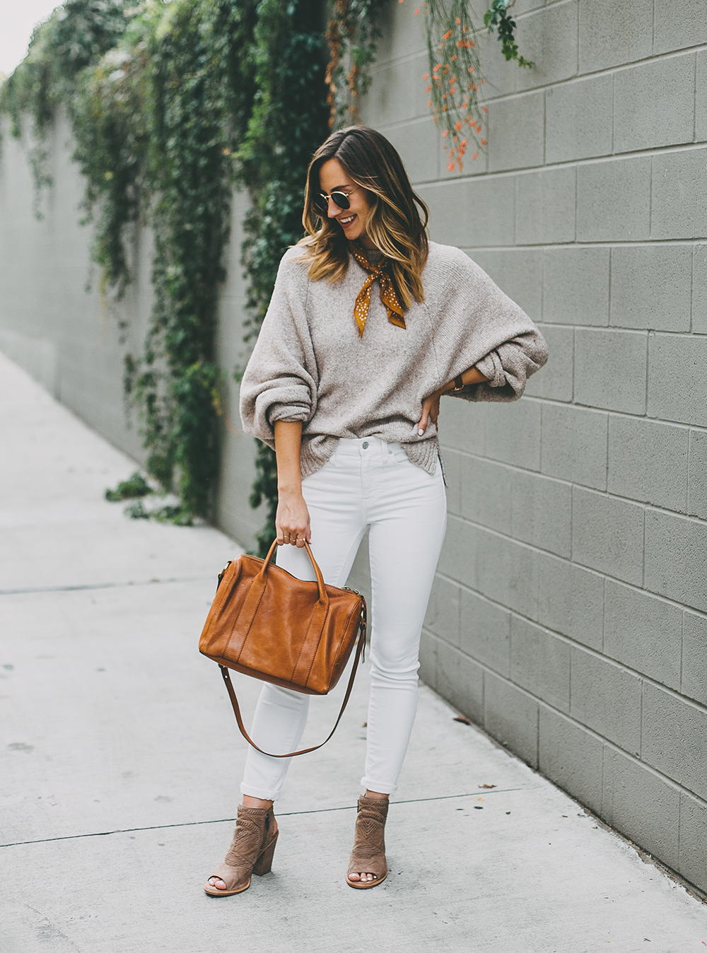 livvyland-blog-olivia-watson-austin-texas-fashion-blogger-mauve-blush-sweater-white-denim-peep-toe-booties-fall-outfit-idea-1