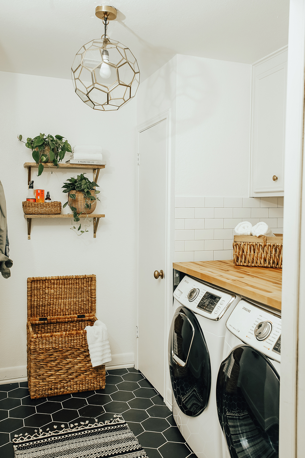 before & after: our laundry room reveal! - livvyland | austin