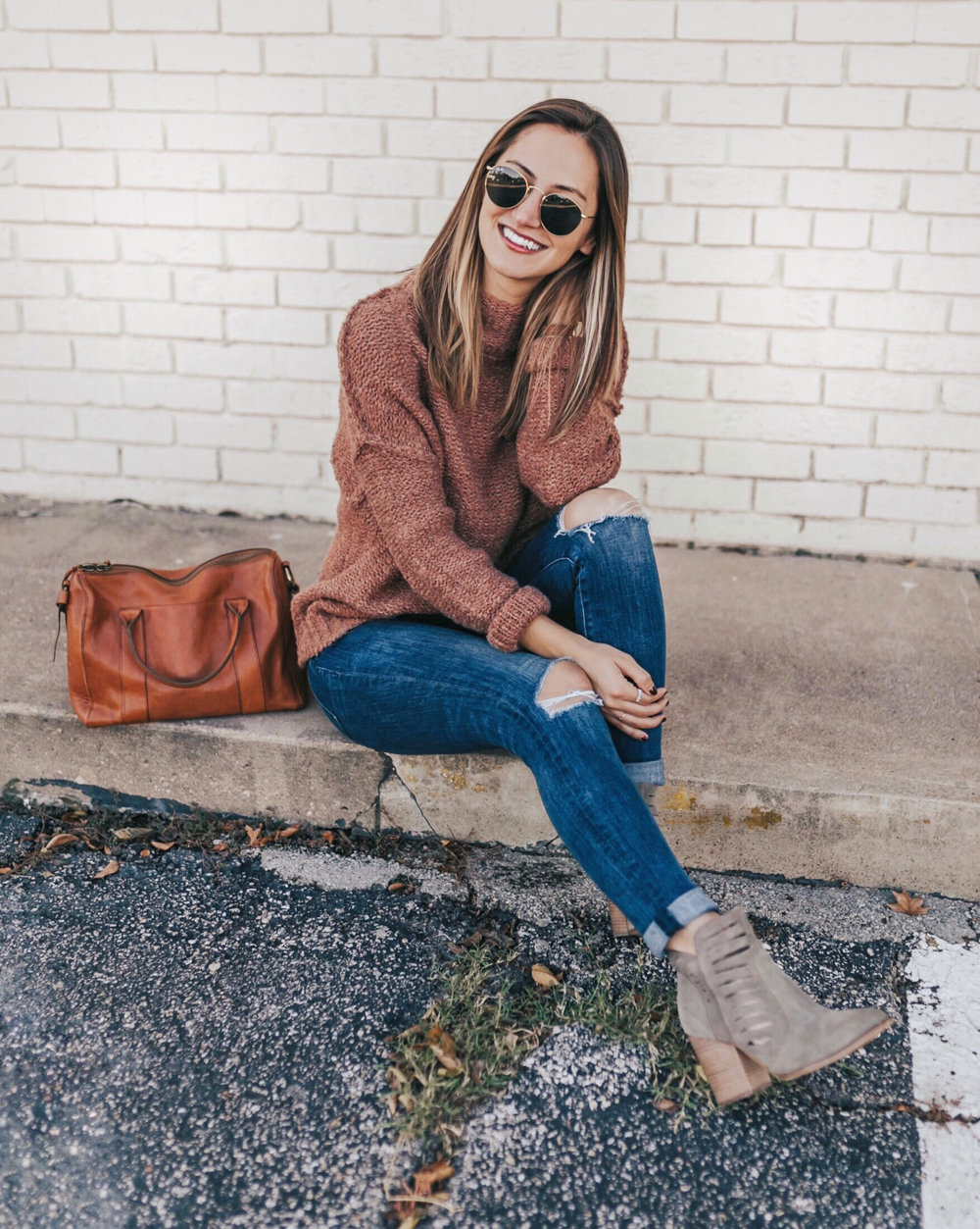 livvyland-blog-olivia-watson-instagram-roundup-livvylandblog-fall-outfit-mauve-sweater-taupe-ankle-booties-austin-texas-fashion-blogger