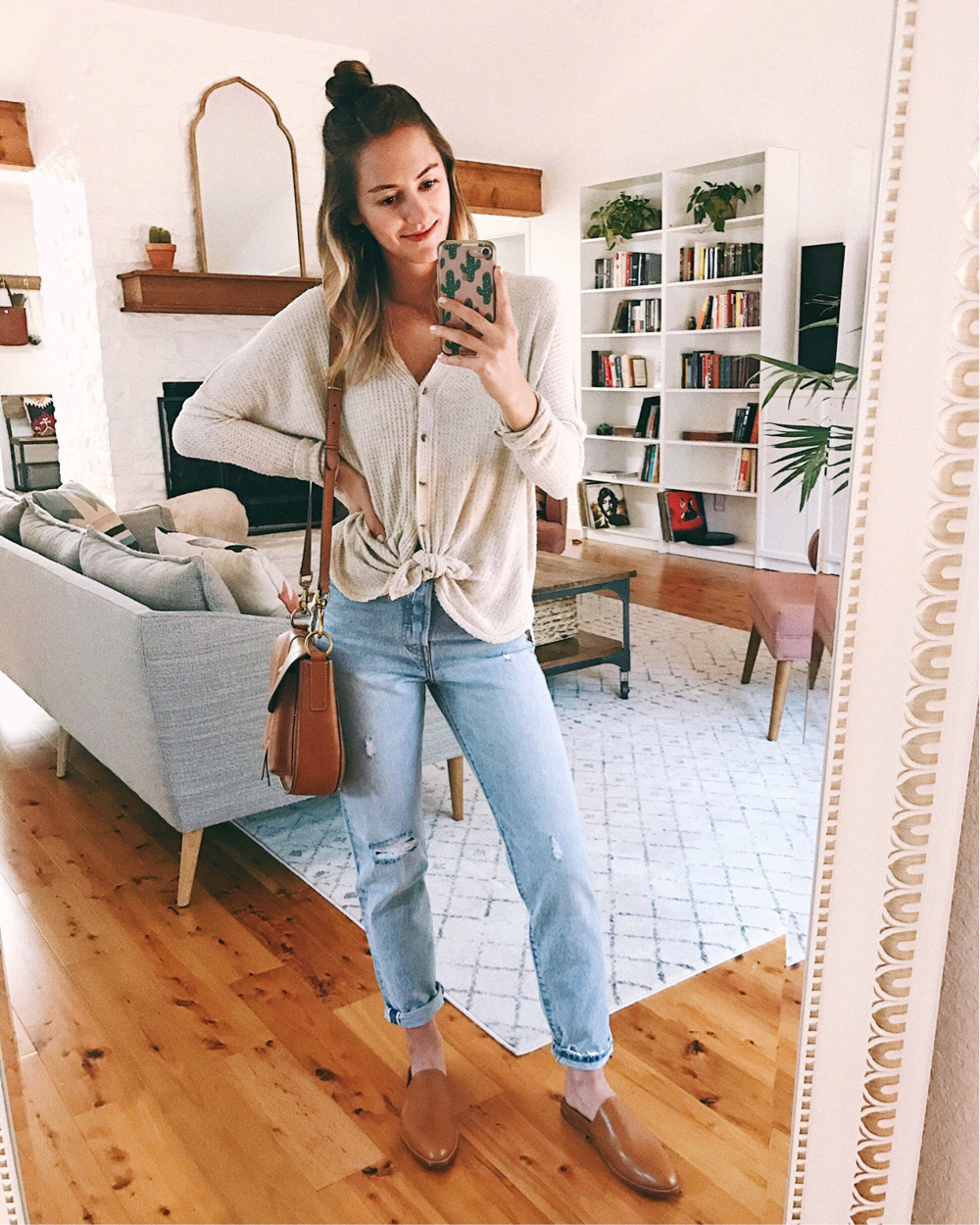 livvyland-blog-olivia-watson-instagram-roundup-livvylandblog-thermal-top-jeans-fall-outfit-idea