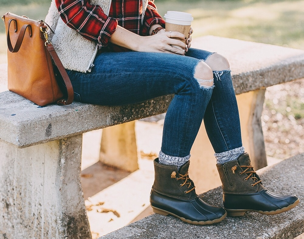 Saltwater Duck Boots Livvyland Austin Fashion And