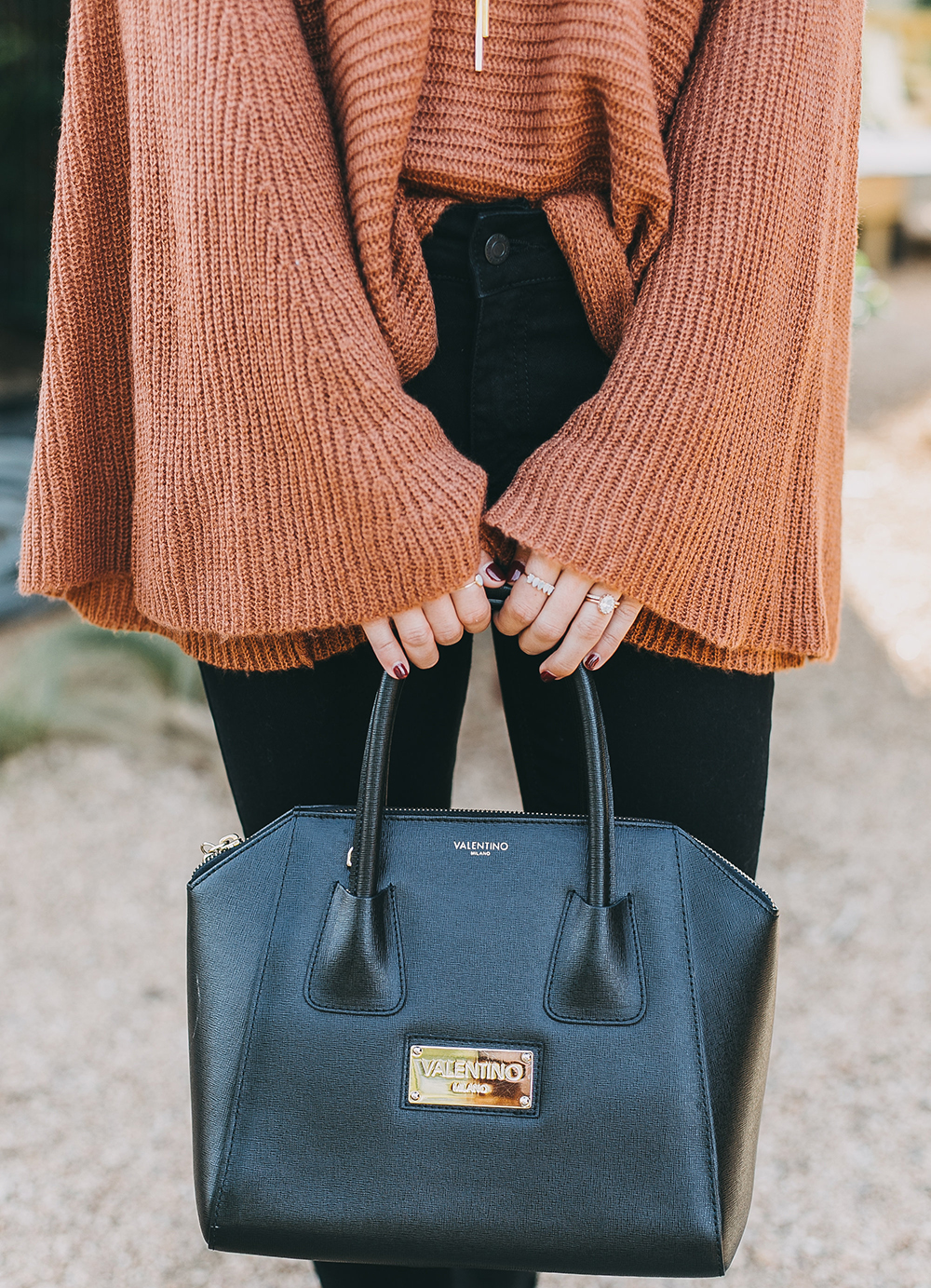 livvyland-blog-olivia-watson-austin-texas-fashion-lifestyle-blogger-fall-orange-slouchy-sweater-black-skinny-jeans-outfit-boho-fall-idea-4