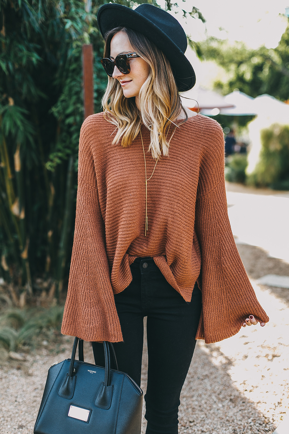 livvyland-blog-olivia-watson-austin-texas-fashion-lifestyle-blogger-fall-orange-slouchy-sweater-black-skinny-jeans-outfit-boho-fall-idea-9