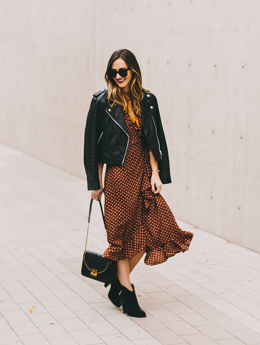 livvyland-blog-olivia-watson-austin-texas-fashion-blogger-urban-outfitters-wrap-dress-sezane-leather-jacket-fall-outfit-idea-1