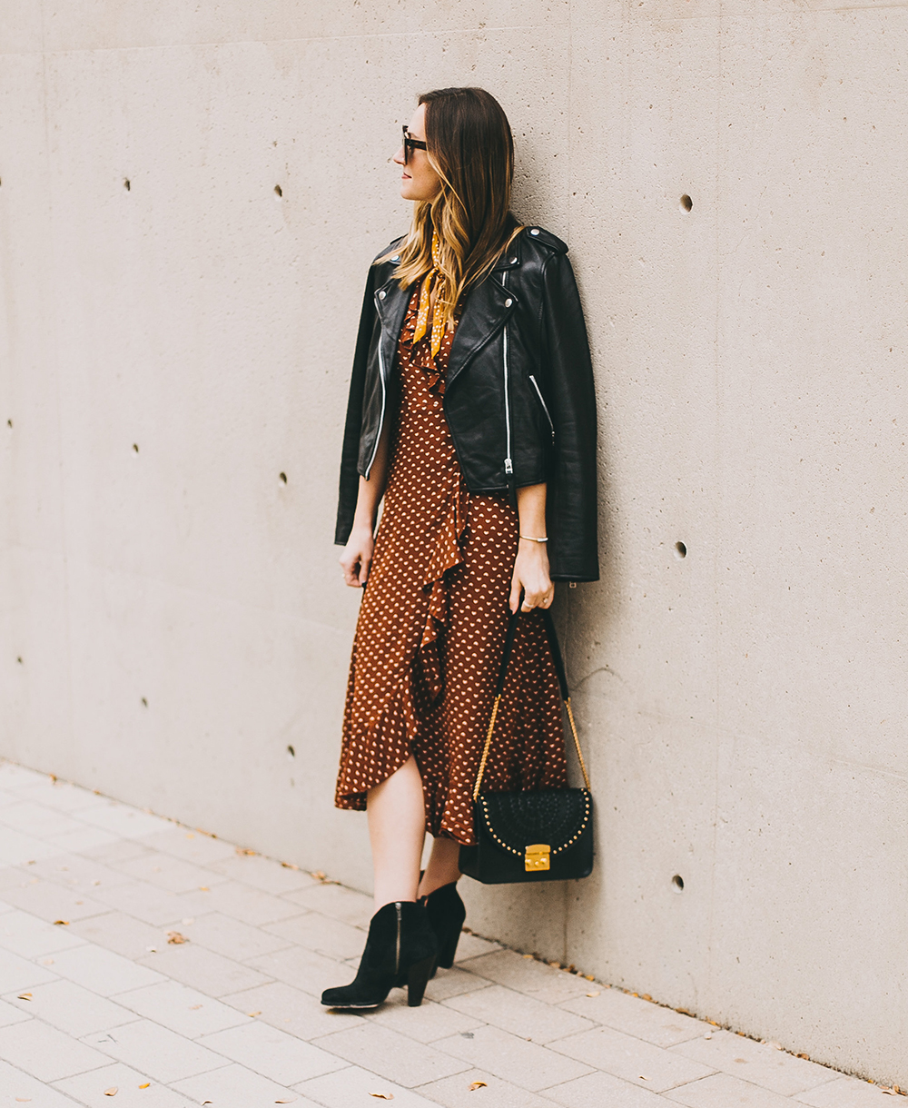 livvyland-blog-olivia-watson-austin-texas-fashion-blogger-urban-outfitters-wrap-dress-sezane-leather-jacket-fall-outfit-idea-2