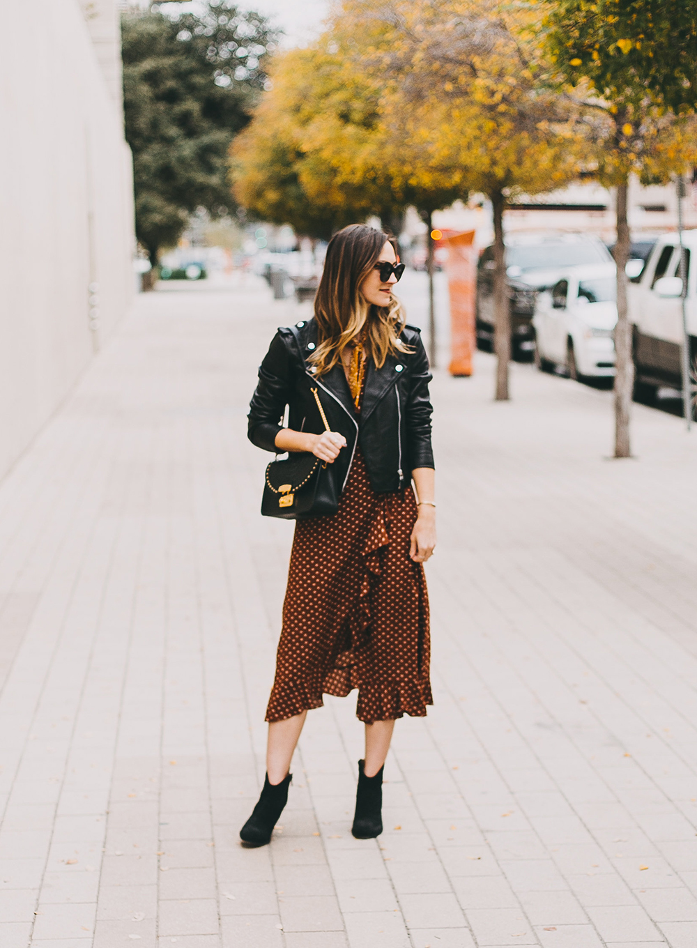 livvyland-blog-olivia-watson-austin-texas-fashion-blogger-urban-outfitters-wrap-dress-sezane-leather-jacket-fall-outfit-idea-3