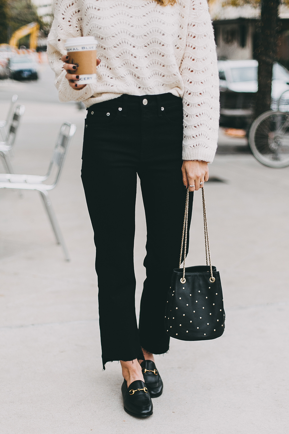 livvyland-blog-olivia-watson-austin-texas-fashion-blogger-white-knit-sweater-rag-bone-crop-flare-black-jeans-gucci-loafers-3