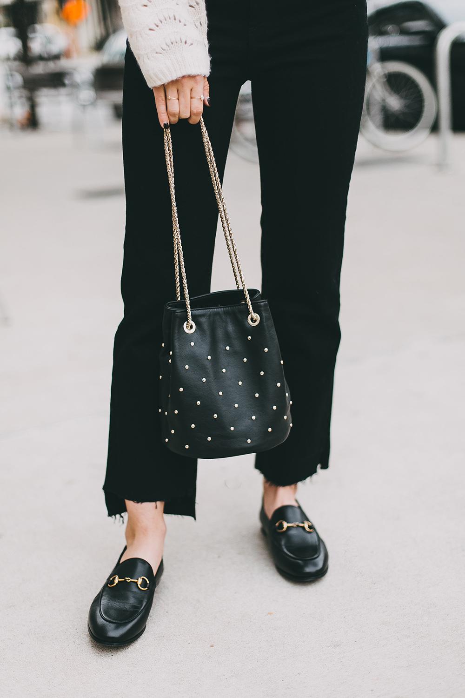 livvyland-blog-olivia-watson-austin-texas-fashion-blogger-white-knit-sweater-rag-bone-crop-flare-black-jeans-gucci-loafers-5