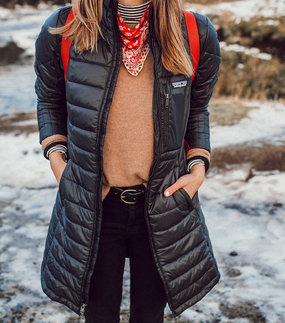 livvyland-blog-olivia-watson-patagonia-puffer-down-jacket-weather-proof-iceland-what-to-pack-backcountry-neckerchief
